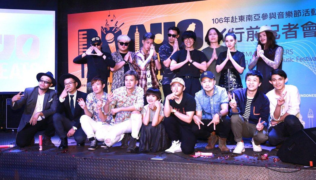 藝人盧廣仲與張三李四、大象體操、熊仔、TRASH、激膚等團體,都準備了全新的演出...