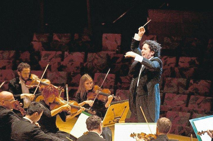 指揮巨星杜達美與貝多芬九大交響曲計畫登台展演。 台新/提供