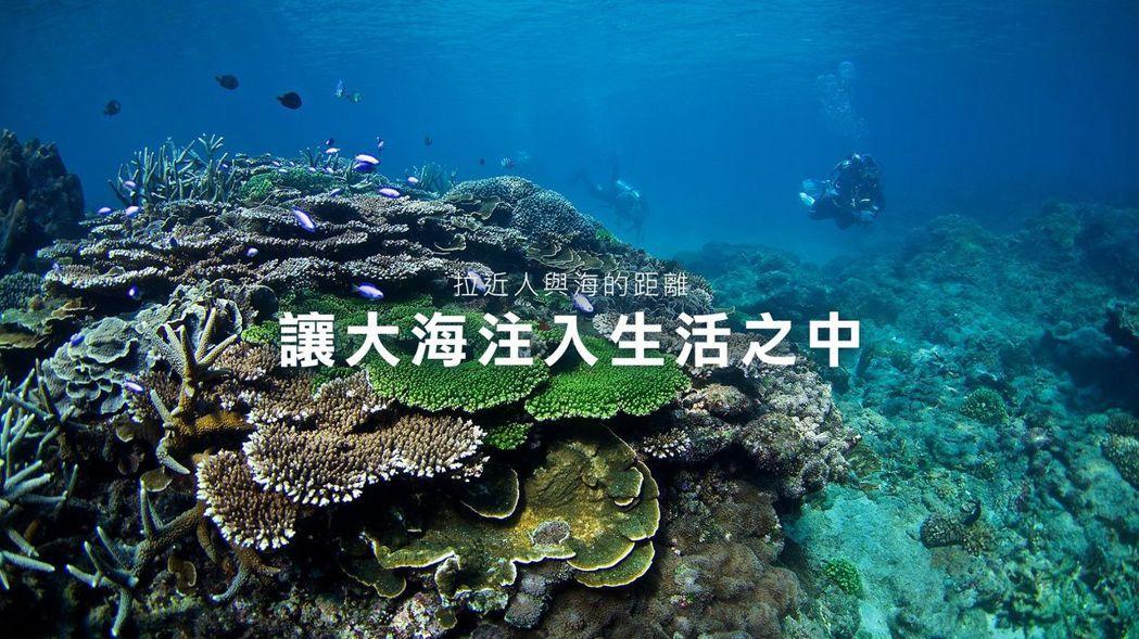 Oris發掘台灣海洋保育使者。Oris/提供