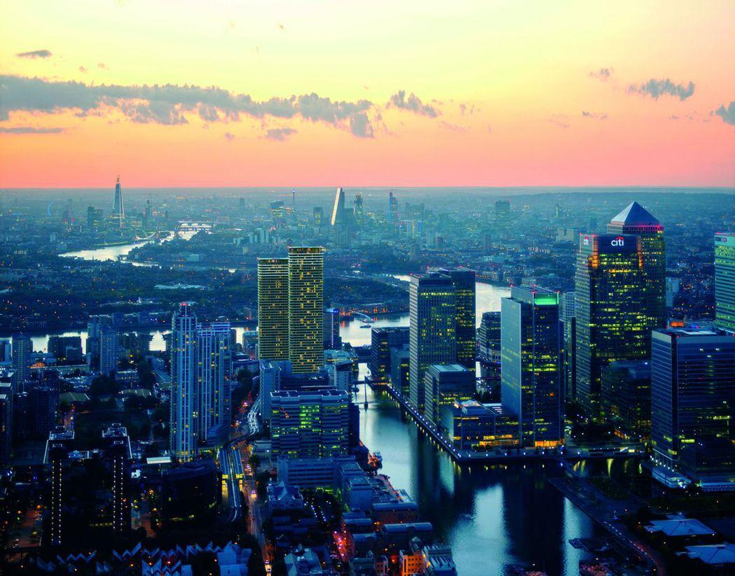 倫敦新興金融區有即紐約華爾街一直都是倫敦白領最嚮往的工作和住宅區域 瑞普萊坊/提...