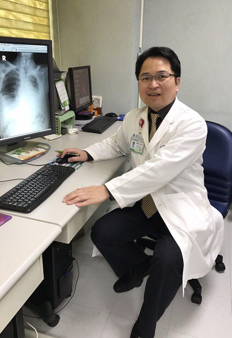 馬偕醫院胸腔內科資深主治醫師 沈聲燁醫師 圖/沈聲燁醫師 提供