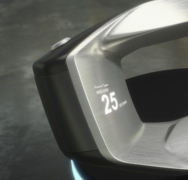 Sayer左上方的實體按鈕,功能目前未知。 摘自Jaguar