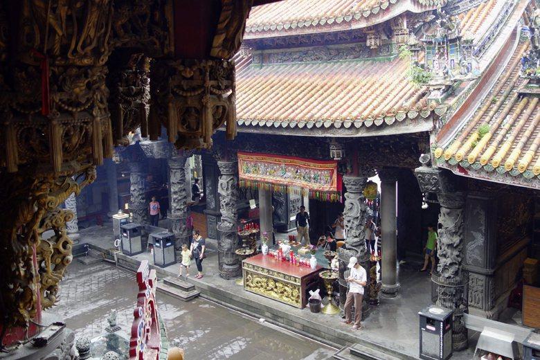 號稱東方藝術殿堂的三峽祖師廟,居然不是法定文化資產。 圖/中新社