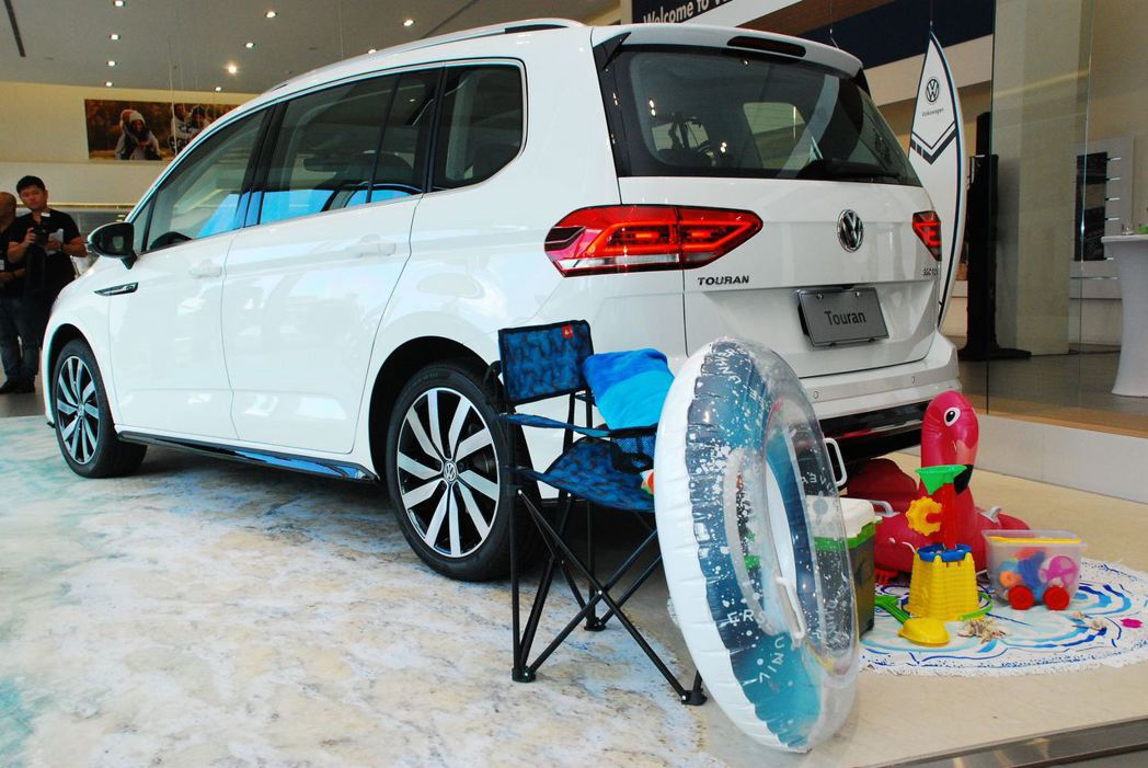 2018年式Volkswagen Touran上市。記者林昱丞/攝影