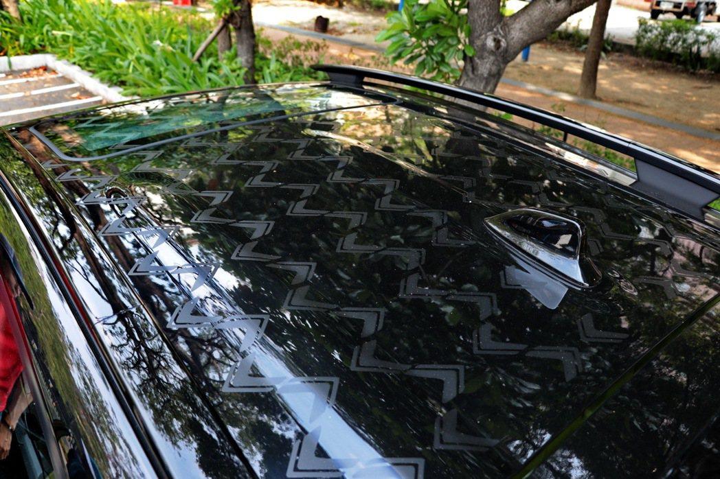 車主可選擇加價選購2 Tone設計,旗艦Vogue+車型還另外有特殊Fun閃貼膜...