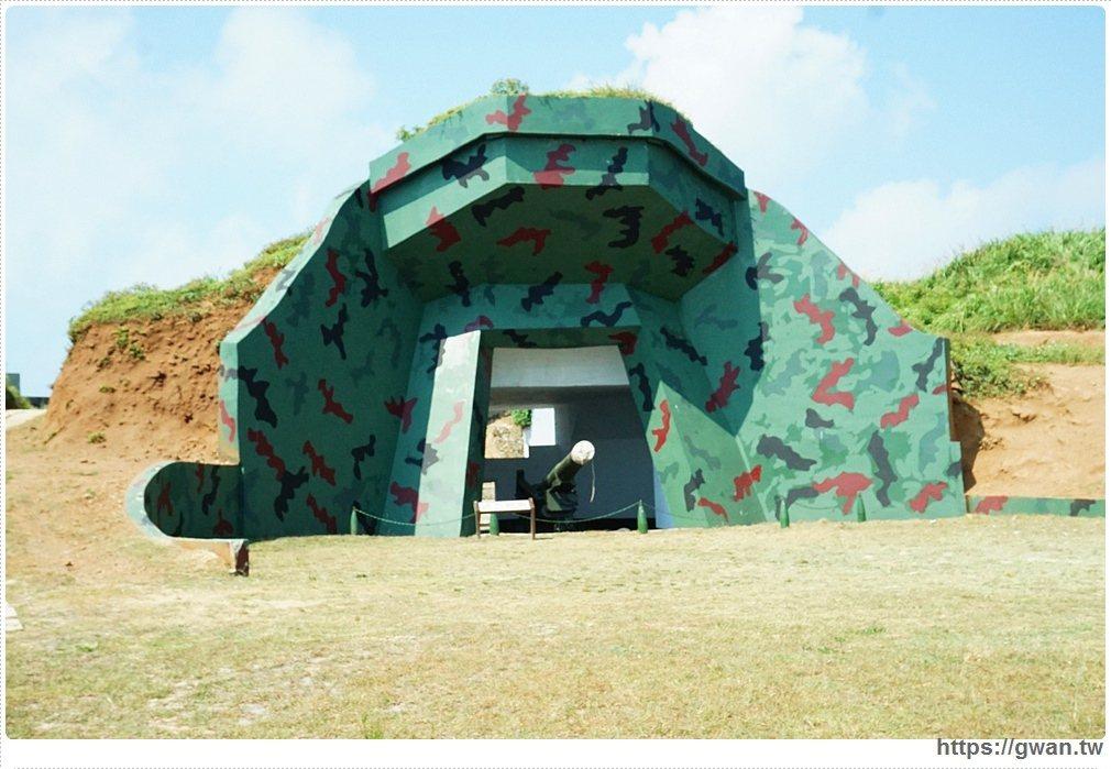 軍事迷必訪!東莒燈塔的馬祖戰地風情-大砲連