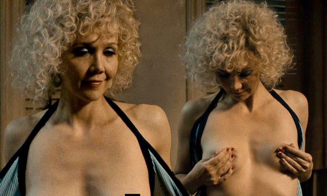瑪姬葛倫霍在新影集大膽上空。圖/翻攝自HBO