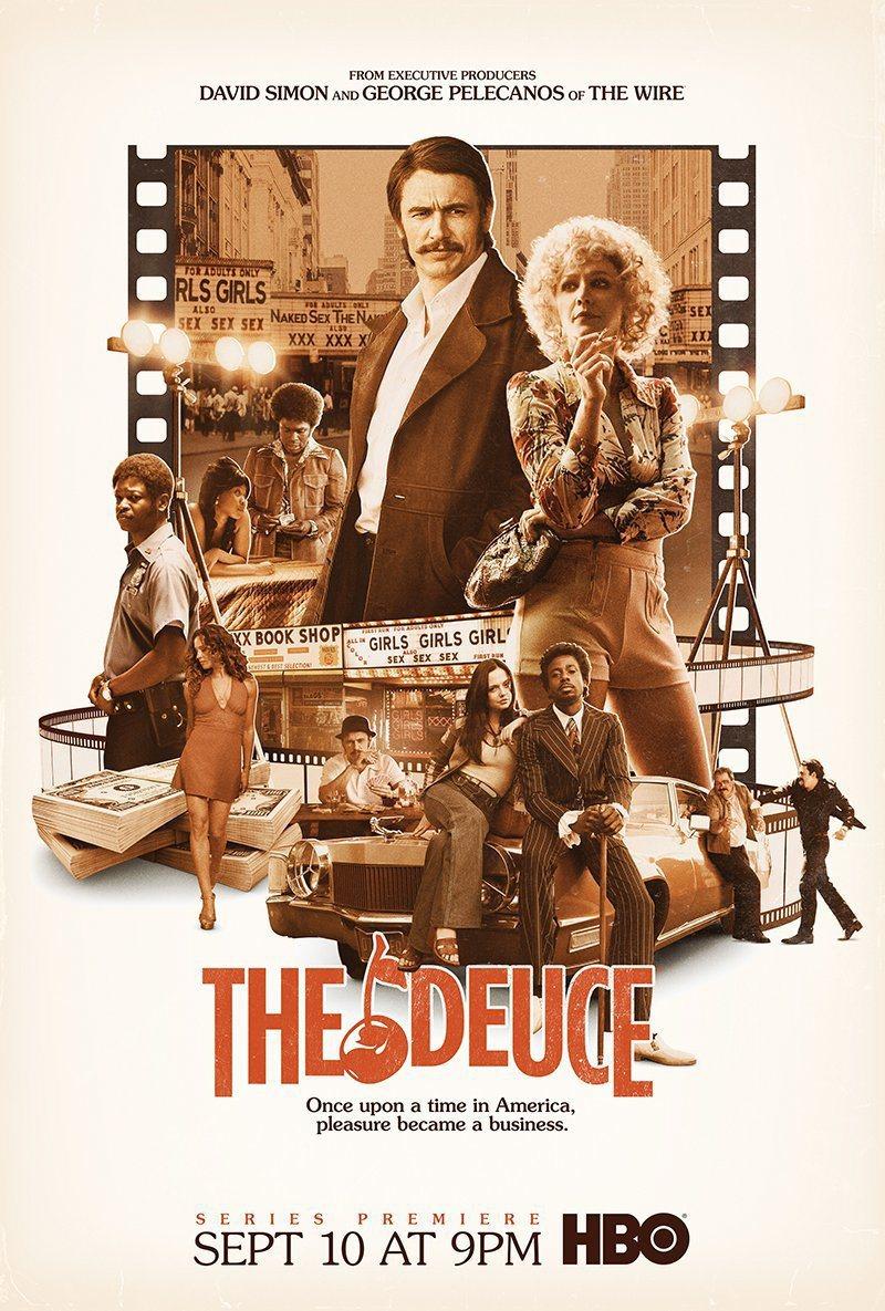 「The Deuce」是今秋頗受矚目新戲。圖/翻攝自HBO