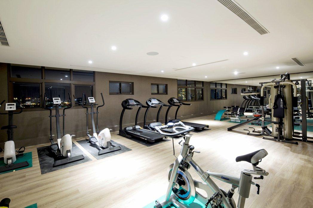 暐順麗緻飯店推出「月租套房」,還可使用付費健身房,相當方便。 圖/業者提供