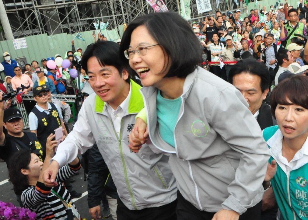 蔡英文總統昨天召開記者會,宣布新任行政院長為台南市長賴清德,「賴上林下」,對民進...