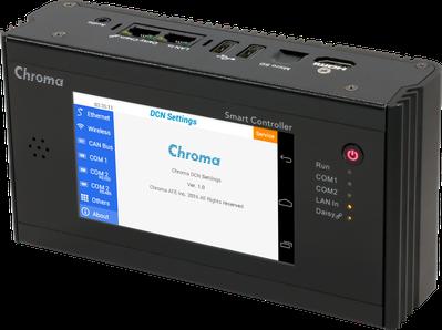 Chroma 智慧型工業規格控制器。致茂電子/提供