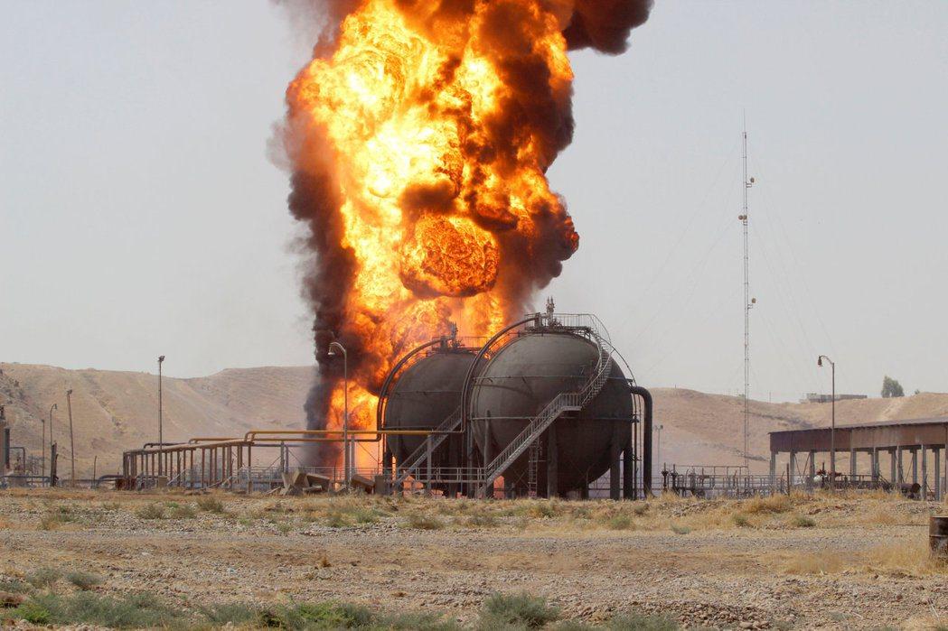 吉爾庫克區(Kerkük)豐富的石油蘊藏量,也是影響各國態度的重點。 圖/路...