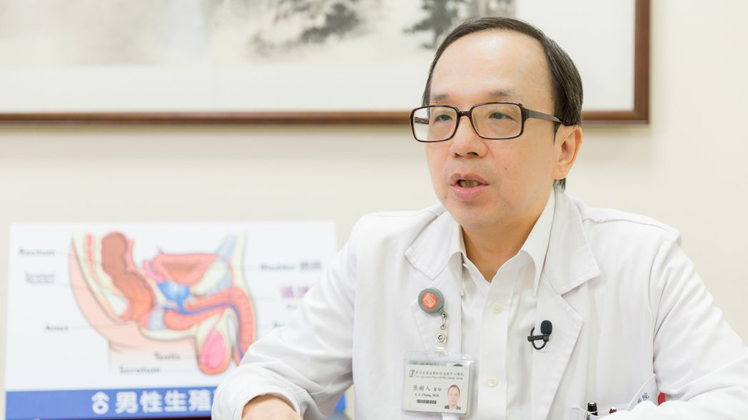 和信醫院泌尿外科主任張樹人表示,攝護腺癌初期幾乎無症狀,非常容易被忽略。 圖/張...