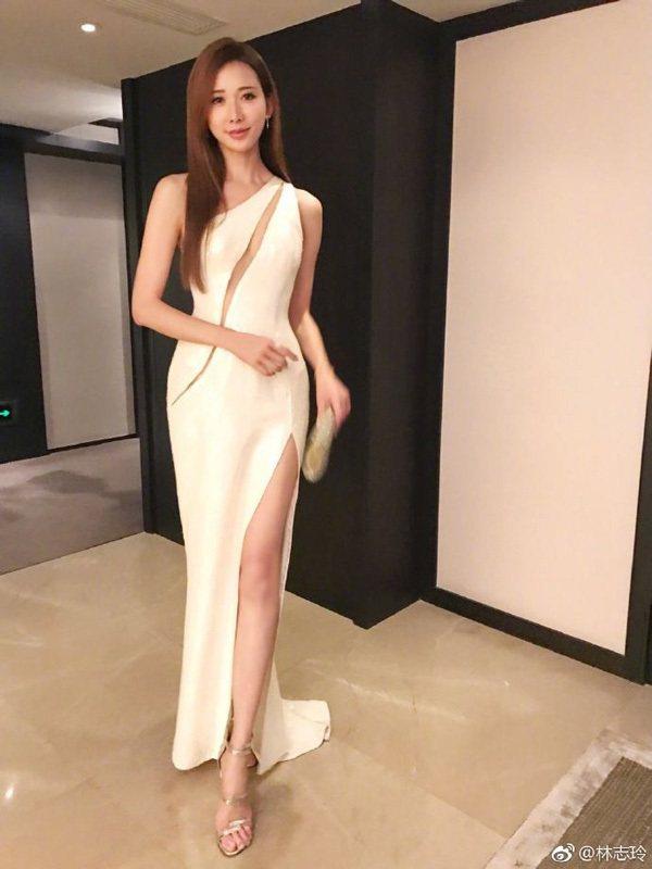 圖/微博@林志玲,Beauty美人圈提供