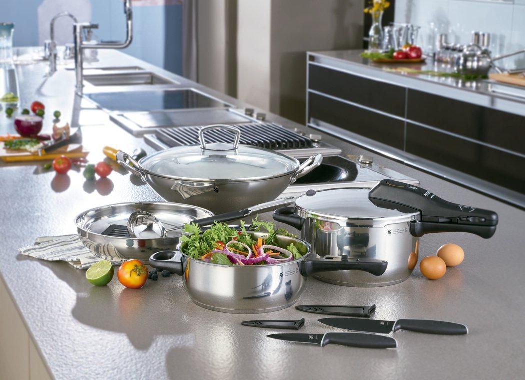 響應支持弱勢兒童課後陪讀計畫,德國百年餐廚品牌WMF特別精選6款廚具,自即日起開...