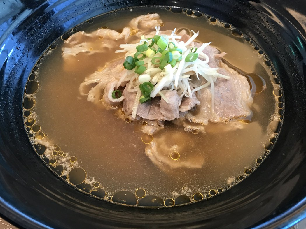 牛肉湯。記者吳淑君/攝影