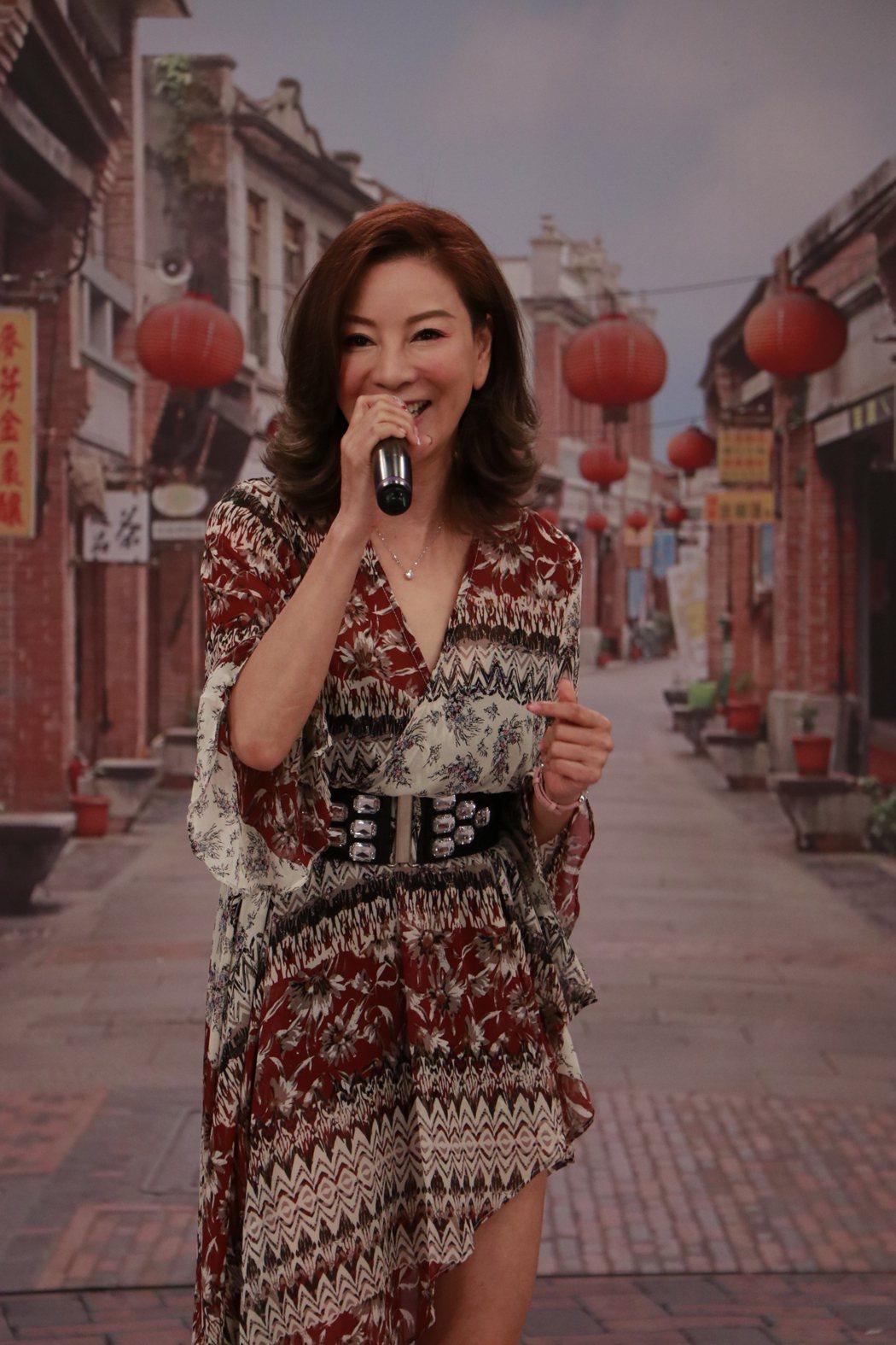 楊繡惠至今仍小姑獨處,她也大方徵友。圖/中視提供