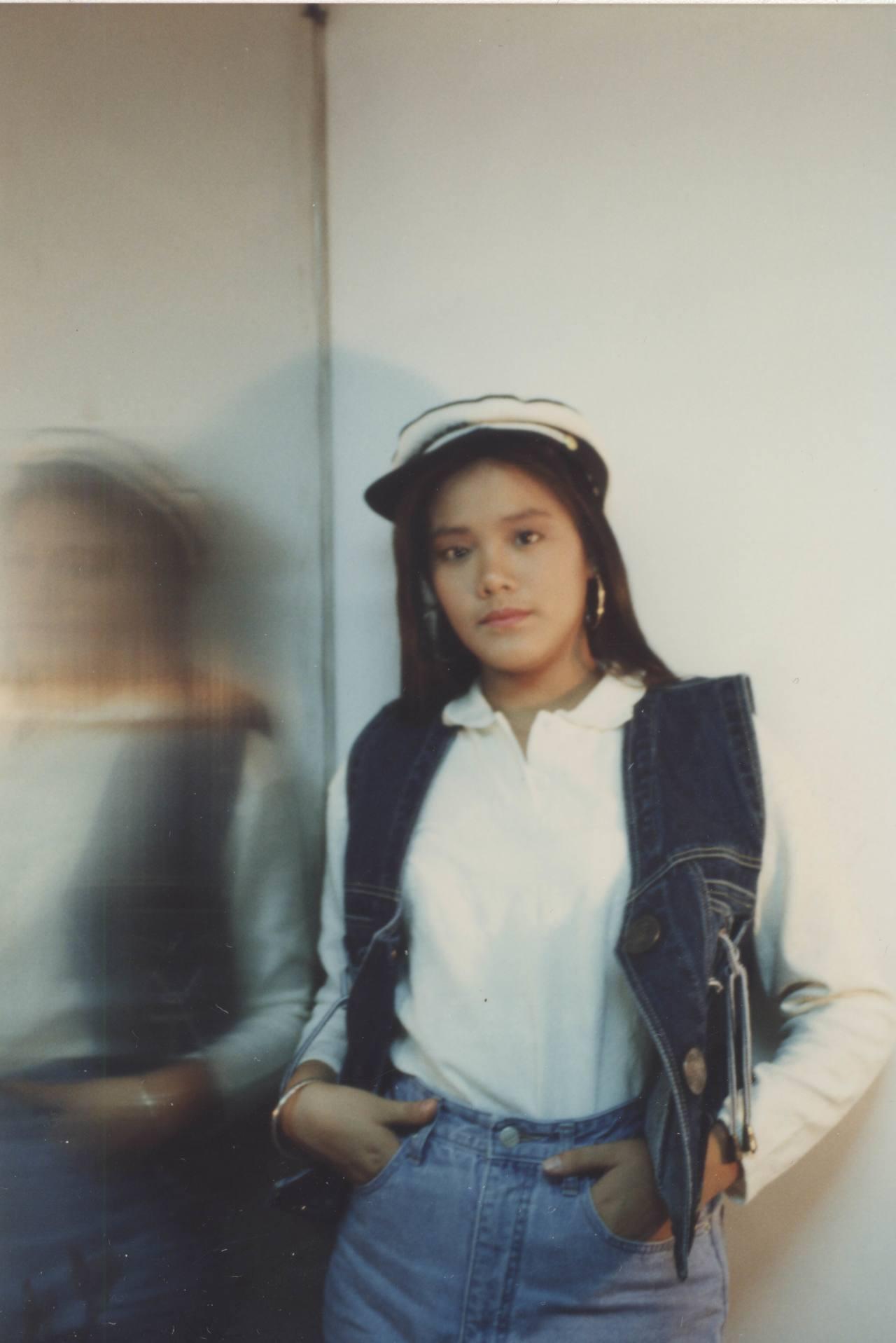 陳翊萱少女時期就十分清秀。圖/艾迪昇提供