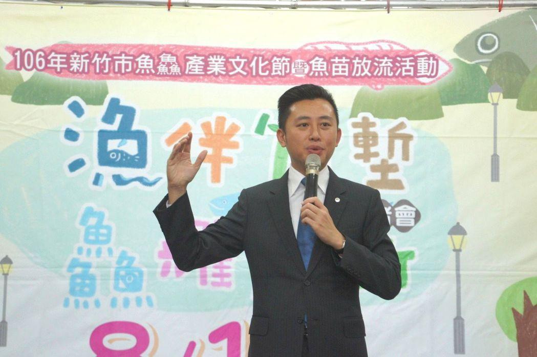 新竹市長林智堅就任後,一直維持在65公斤左右。 本報資料照