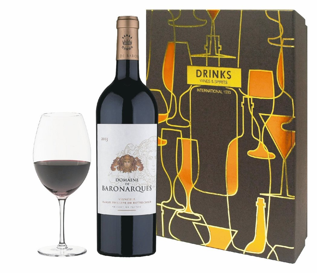 法國寶龍納格頂級紅葡萄酒2013 0.75L,禮盒價2,050元。 圖/各業者提...