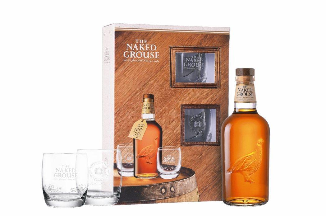 裸雀初次雪莉桶蘇格蘭威士忌禮盒/1,150元。 圖/各業者提供