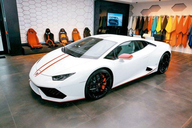 Lamborghini Ad Personam讓超跑有無限可能。 圖/Lambo...