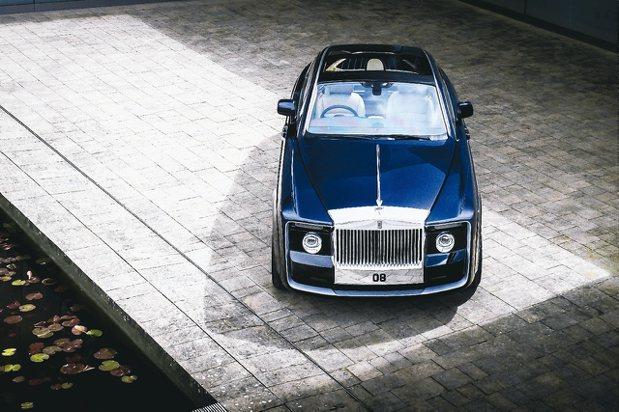 零到完成的藝術品《Rolls-Royce Sweptail》。 圖/Rolls-...