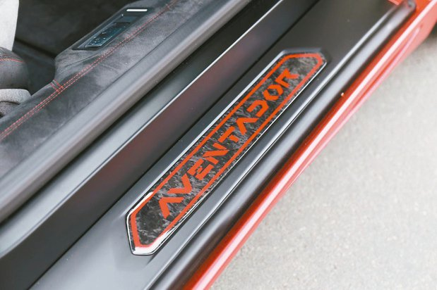 Lamborghini Ad Personam可選擇鍛造碳纖維。 圖/Lambo...