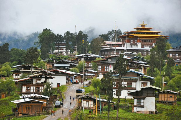 葉孝忠認為不丹的快樂,也是因為選擇不多。 圖/自由之丘提供