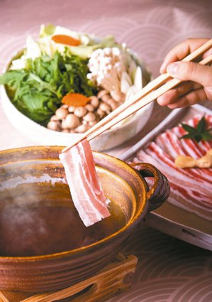 鹿兒島黑豚涮涮鍋。 圖/大倉久和大飯店提供