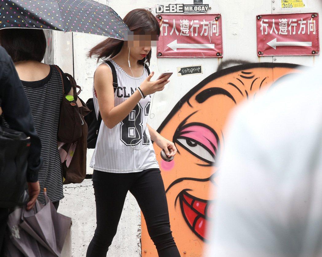 手機資安越來越受到使用者的重視。 報系資料照
