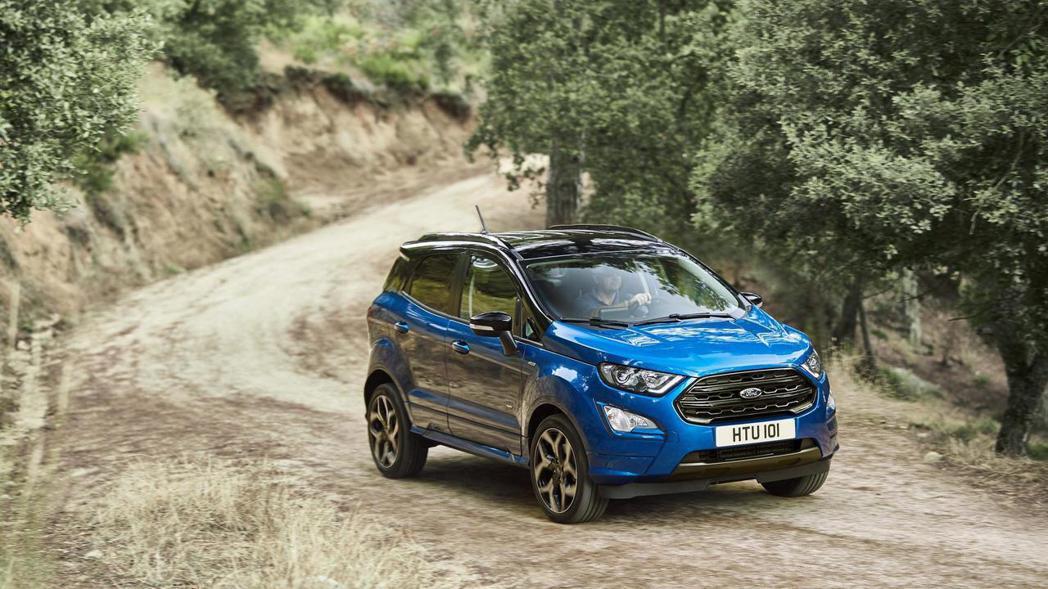 Ford還為小改款的EcoSport推出ST-Line運動化車型(歐規)。 摘自Ford