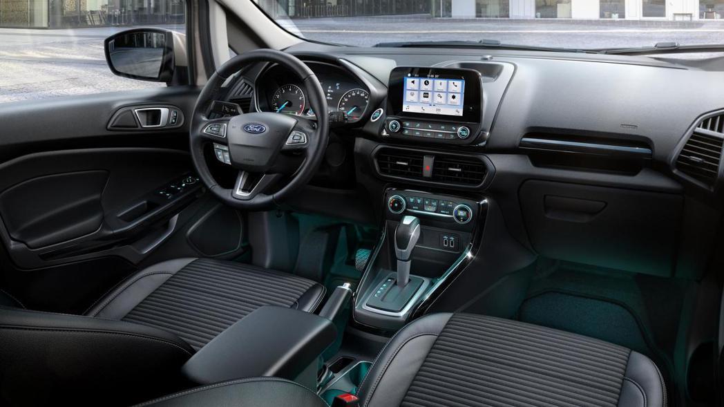圖為歐規Ford EcoSport內裝。 摘自Ford