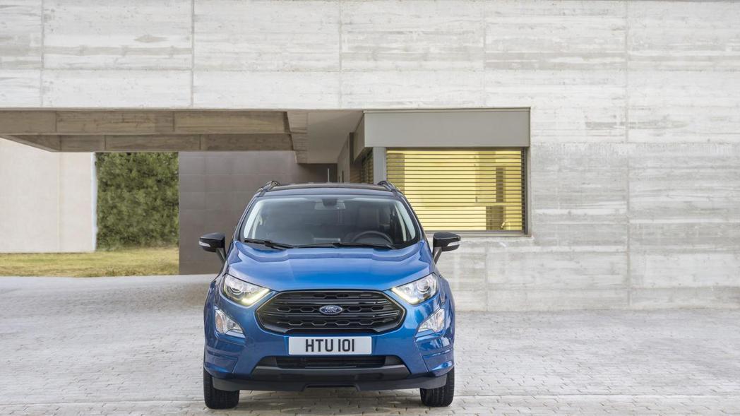 圖為歐規Ford EcoSport。 摘自Ford