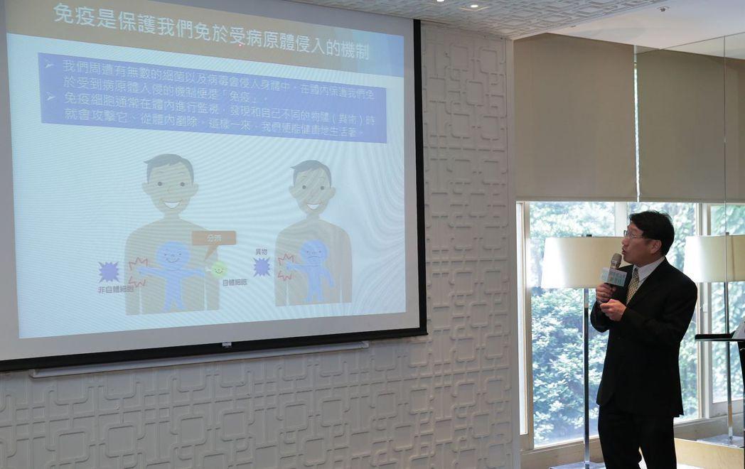 臺北榮民總醫院腫瘤醫學部藥物治療科楊慕華主任。亞典/提供