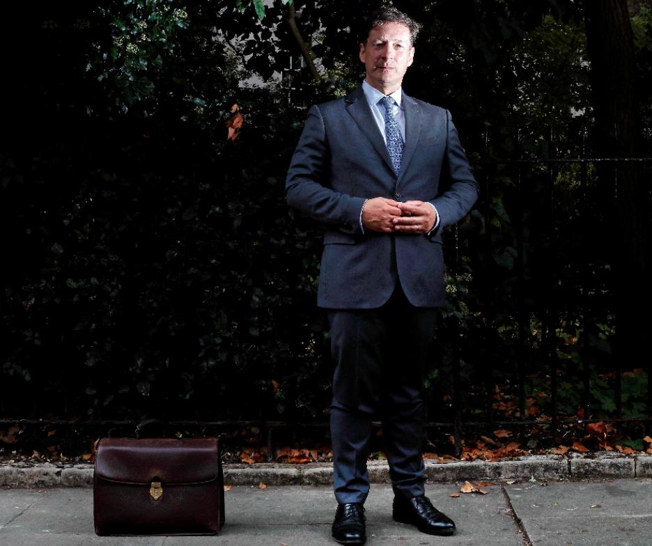 盧森堡金融推廣署首席執行官馬可寧。法新社