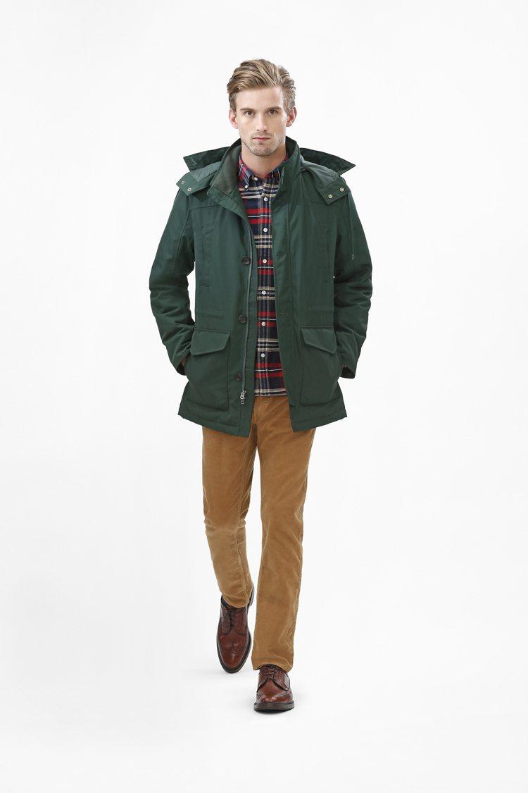 這一季Brooks Brothers Red Fleece系列,以金屬灰色、藍調...