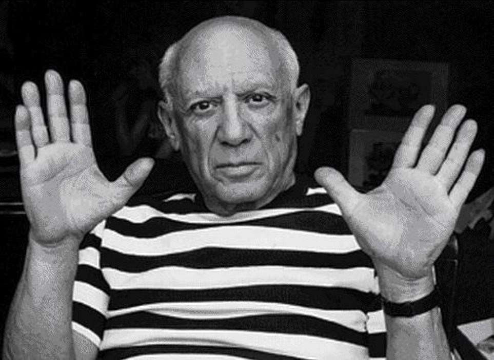 著名畫家畢卡索的生平將成為「世紀天才」第2季重心。圖/摘自mzl.zgora.p