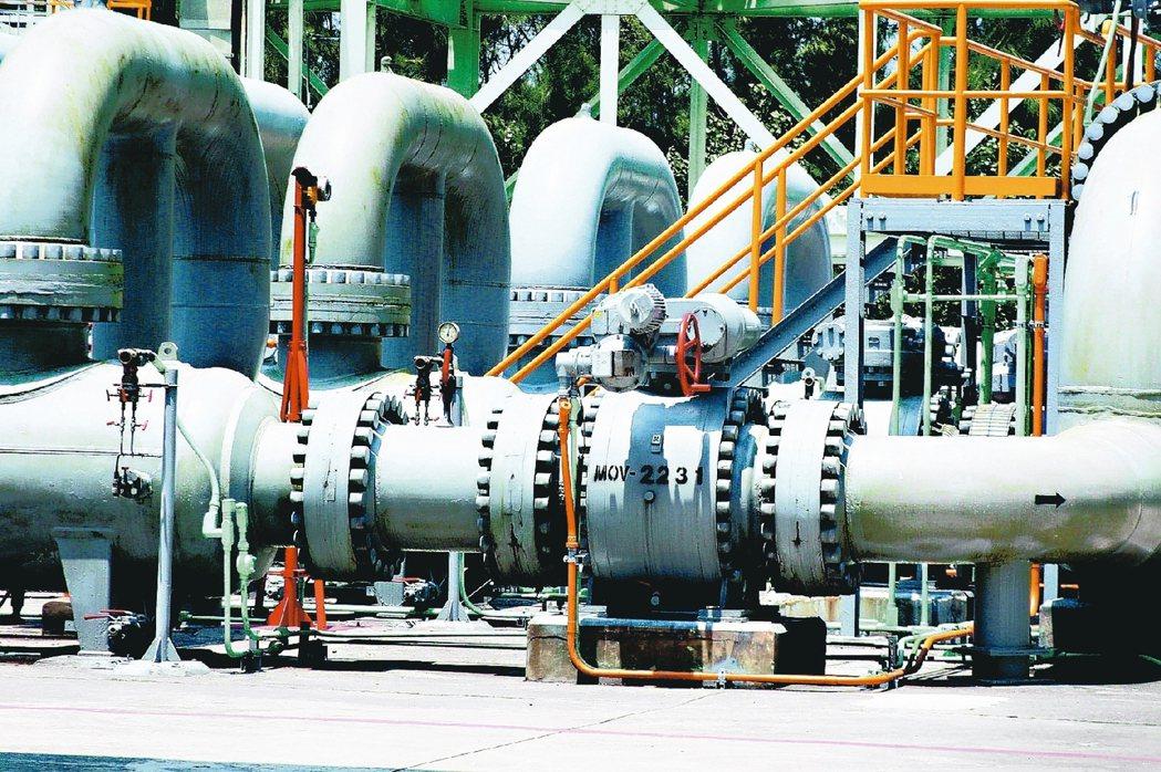 圖為大潭電廠設施。 本報資料照片