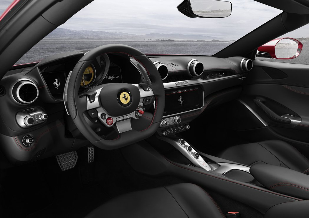 Ferrari Portofino。圖/Ferrari提供