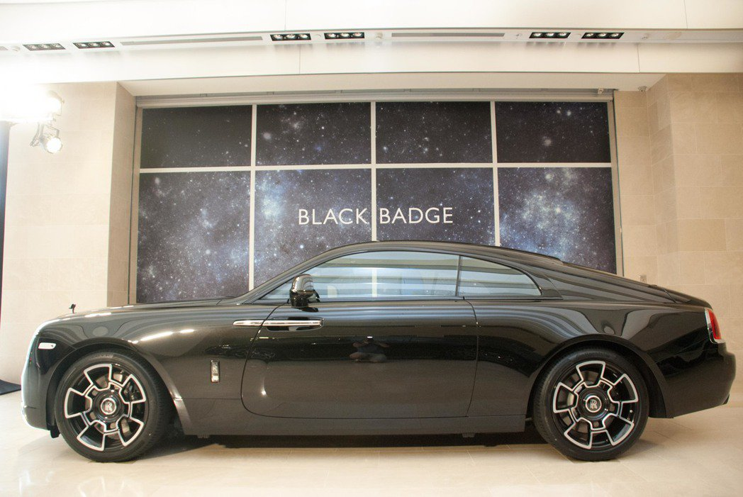 Rolls-Royce Wraith Black Badge。記者林昱丞/攝影