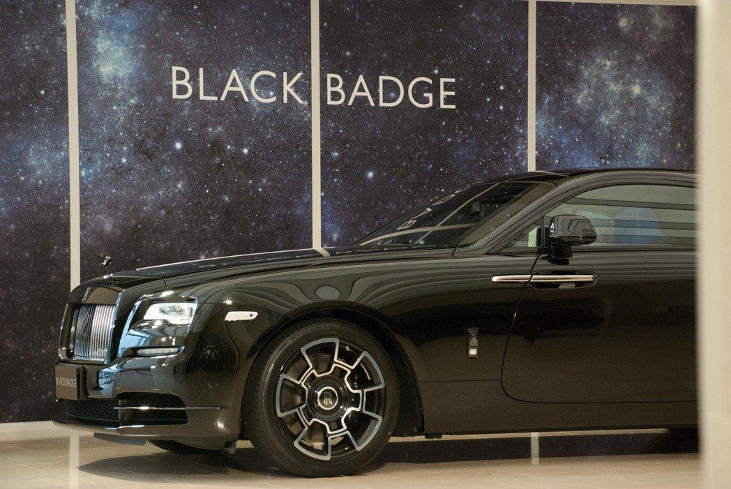 Rolls-Royce Wraith Black Badge。記者林昱丞/攝影