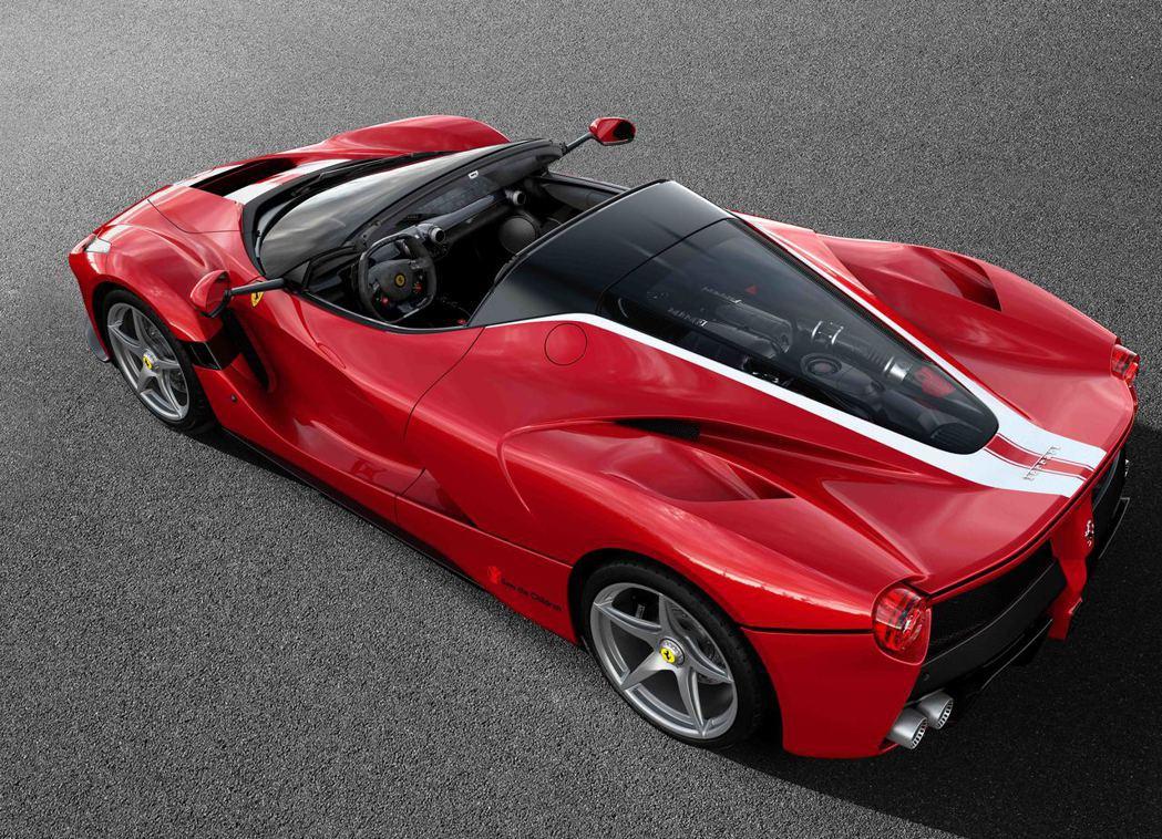 Ferrari LaFerrari Aperta。圖/Ferrari提供