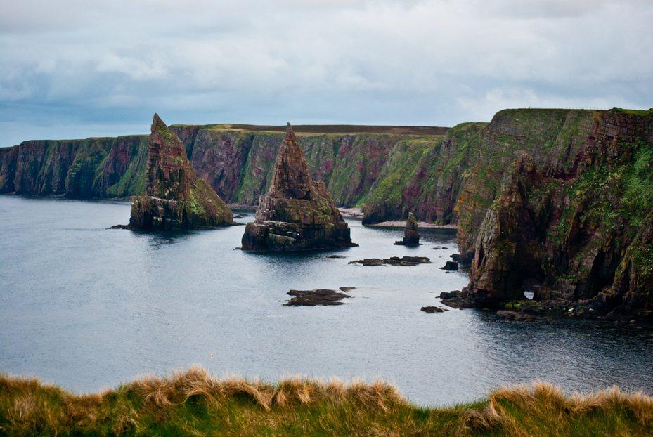 蘇格蘭海灣一景。圖/ingimage