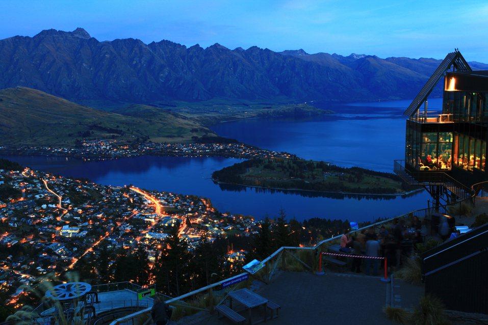 紐西蘭黃后鎮的風景。圖/ingimage