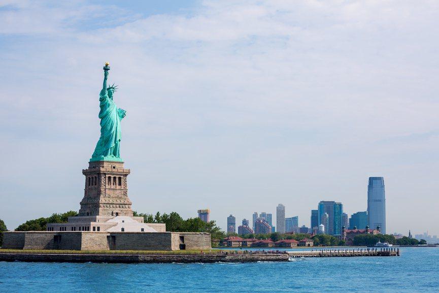 美國自由女神像。圖/ingimage