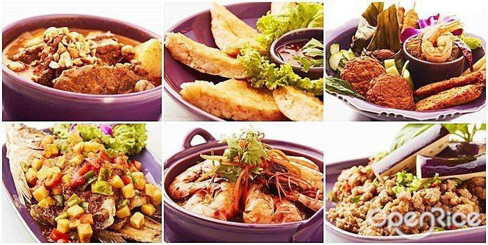 ▲「NARA Thai Cuisine」經典菜色有:瑪莎曼牛肉、月亮蝦餅、Nar...