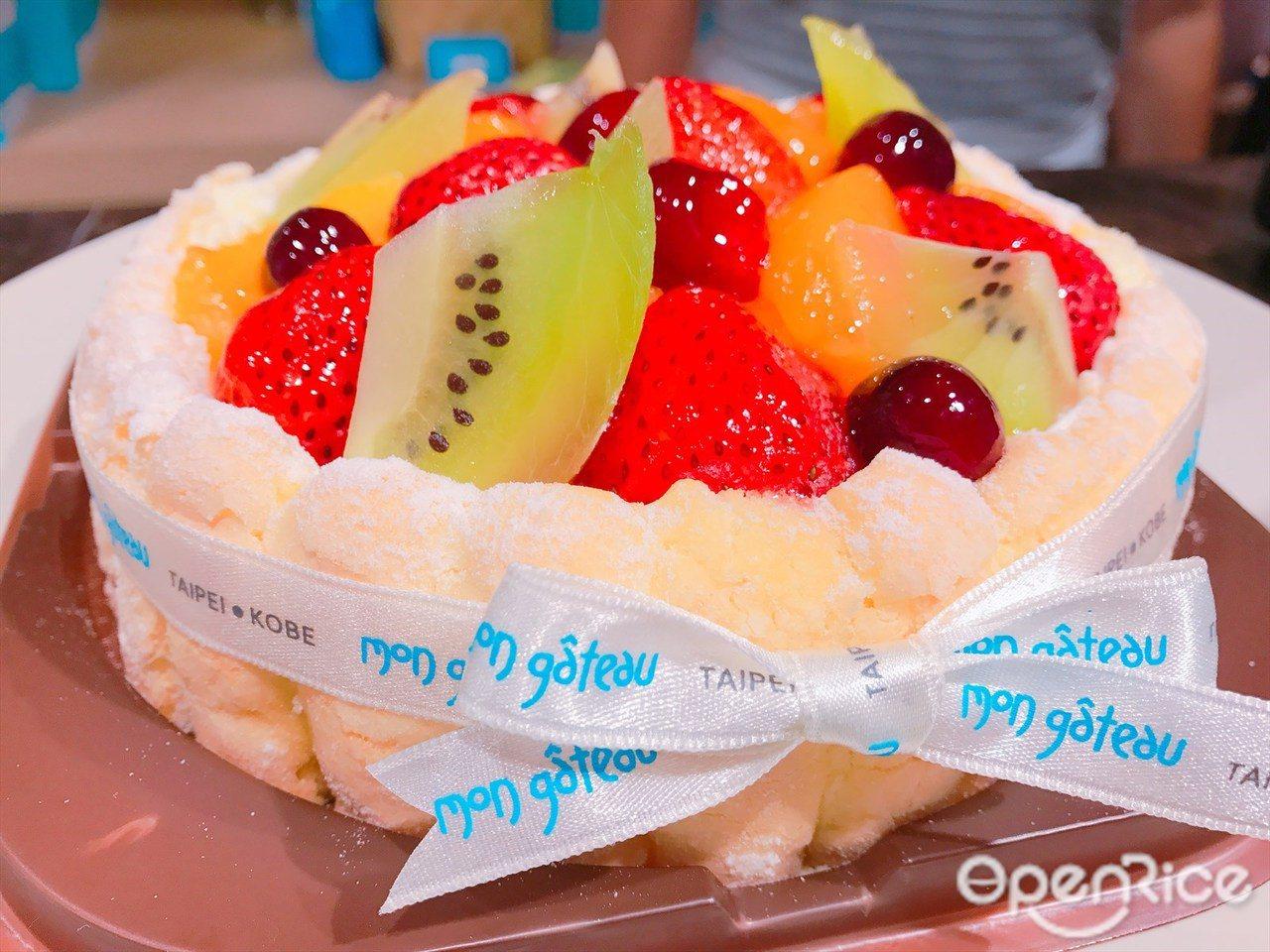 ▲▼以日本純生鮮奶油捲蛋糕成名的夢卡朵蛋糕,走出台北開設第四個新據點!