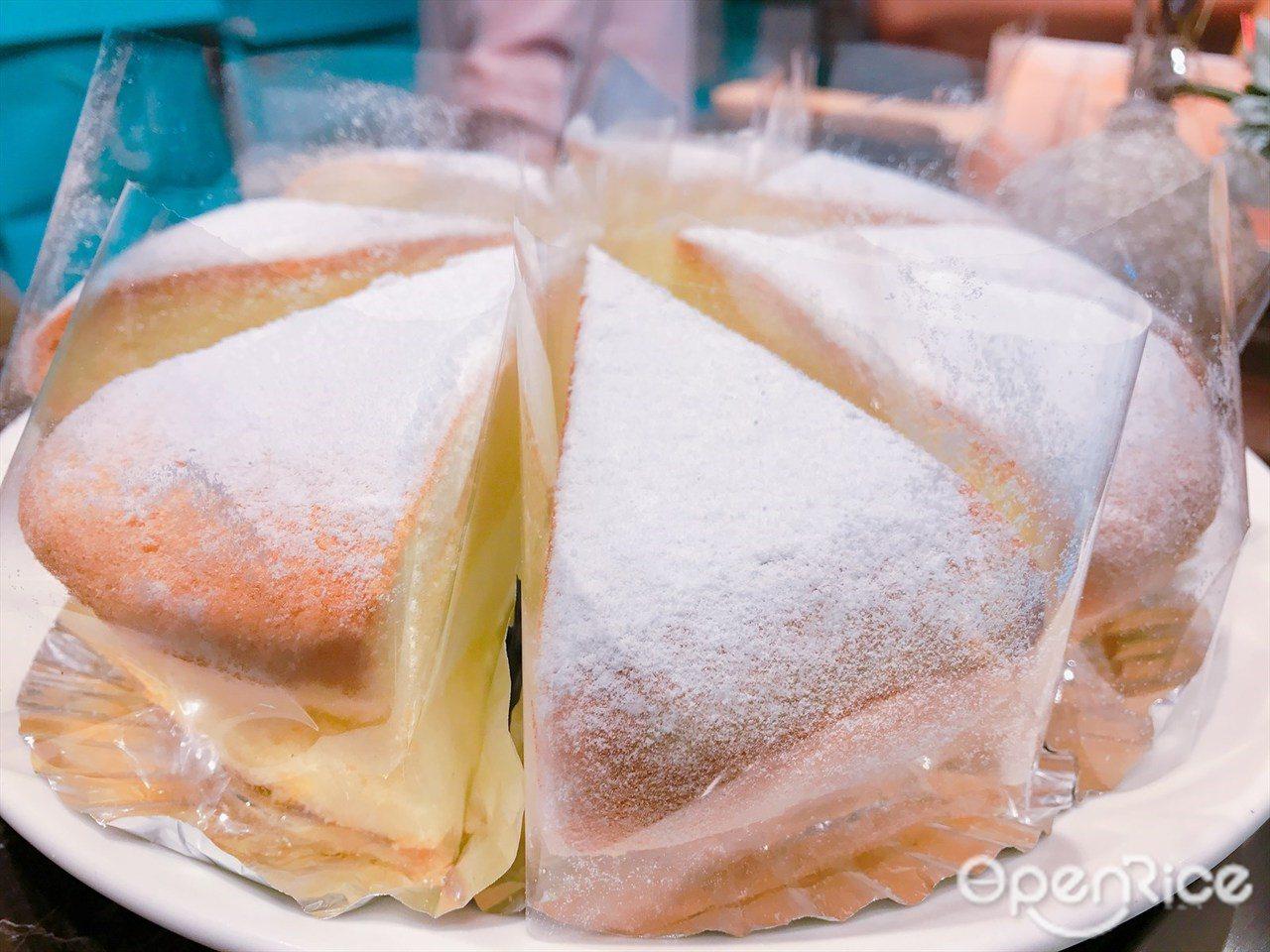 ▲大江店限定商品日本純生鮮奶油波士頓派
