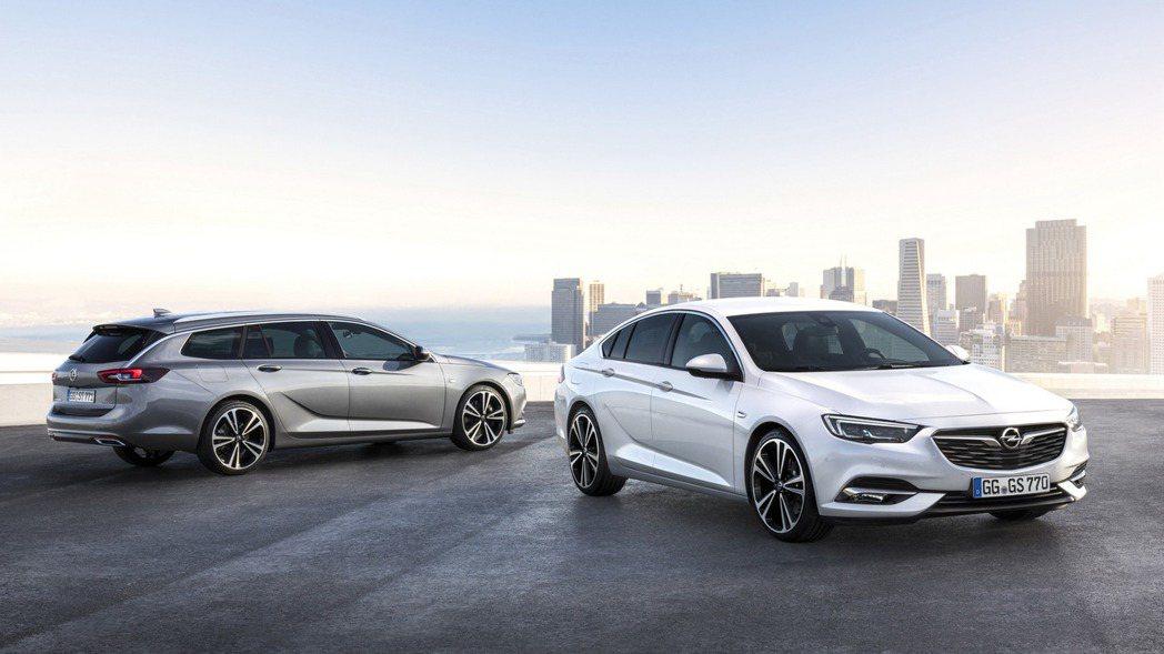 Opel Insignia優異的產品魅力,在歐洲市場創下出色的銷售佳績。 圖片來...